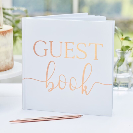 Picture of Ginger Ray® Foiled Guest Book