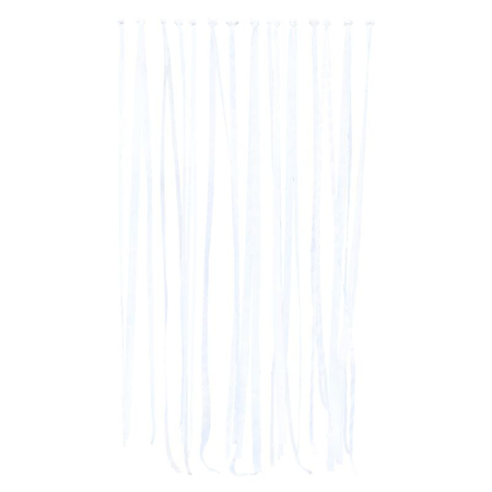Picture of Ginger Ray® White Ribbon Hanging Wedding backdrop