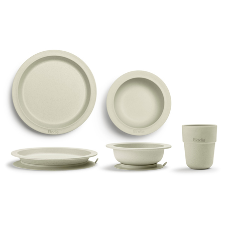 Picture of Elodie Details® Children's Dinner Set 3 pieces - Vanilla White