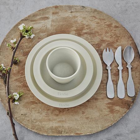 Picture of Elodie Details® Children's Dinner Set 3 pieces - Vanilla White