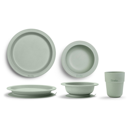 Picture of Elodie Details® Children's Dinner Set 3 pieces - Mineral Green