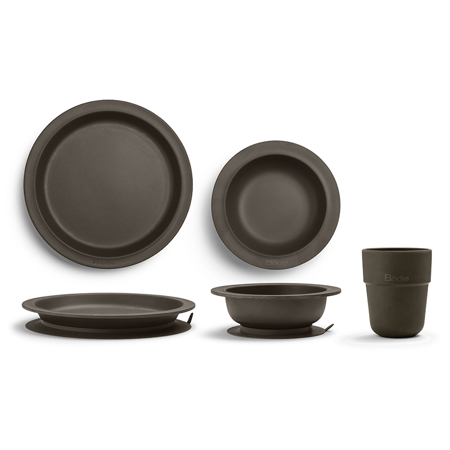 Picture of Elodie Details® Children's Dinner Set 3 pieces - Chocolate