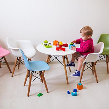 Picture of EM Scandinavian Inspired Kid's Chair Grey