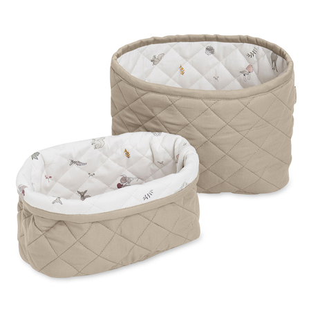 Picture of CamCam® Quilted Storage Baskets Hazel