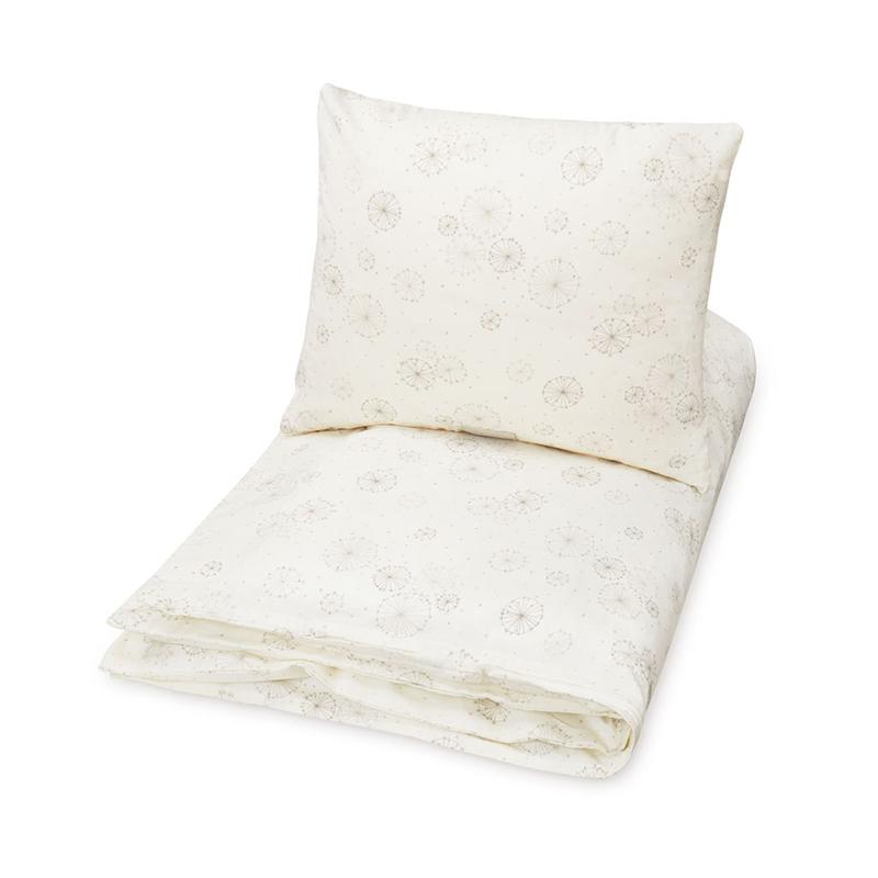 Picture of CamCam® Danish Junior Bedding Dandelion Natural (100x140;45x40)