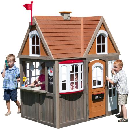 KidKraft® Greystone Cottage Playhouse with EZ Kraft Assembly™