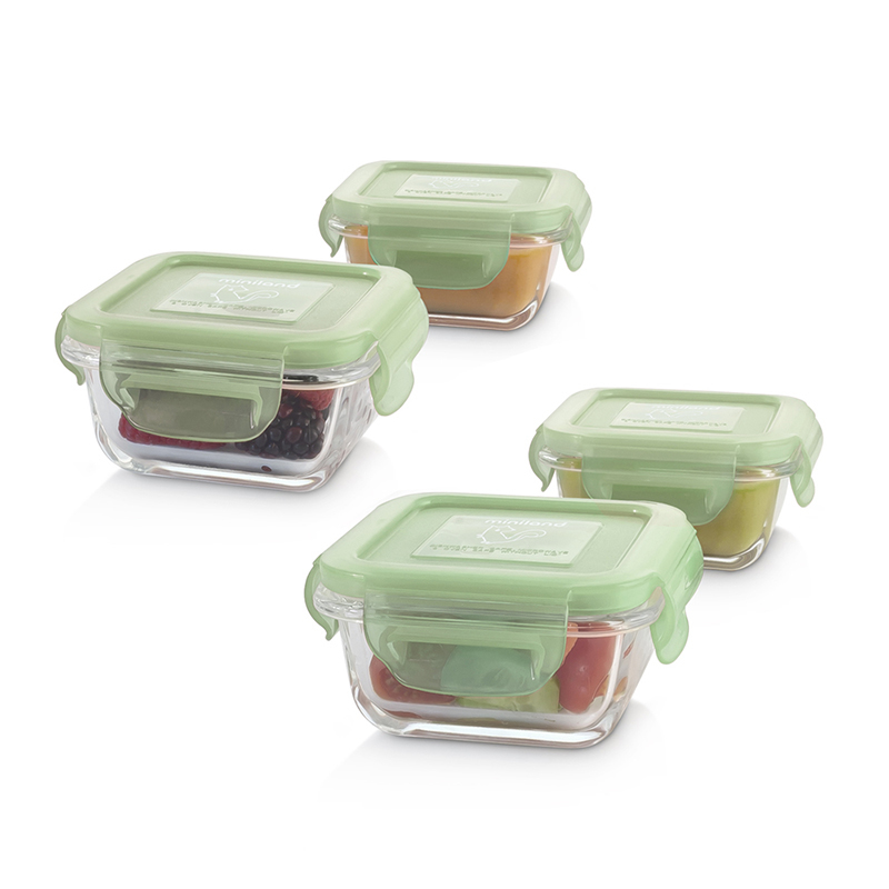 Picture of Miniland® Set 4 Natursqare Chip