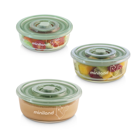 Picture of Miniland® Set 3 Naturround Chip