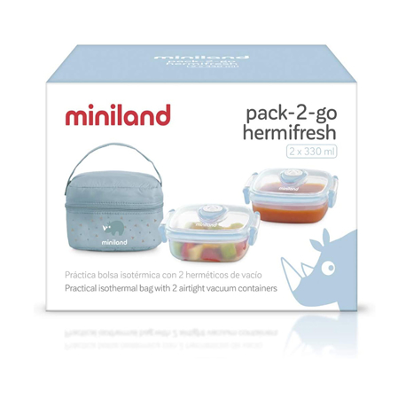 Picture of Miniland® Pack 2 Go Hermifresh Azure