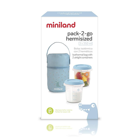 Picture of Miniland® Pack 2 Go Hermisized Azure