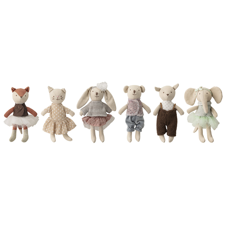 Picture of Bloomingville® Soft Toy, Multi-color, Cotton