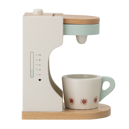 Picture of Bloomingville® Play Set, Coffee maker, Multi-color, Beech