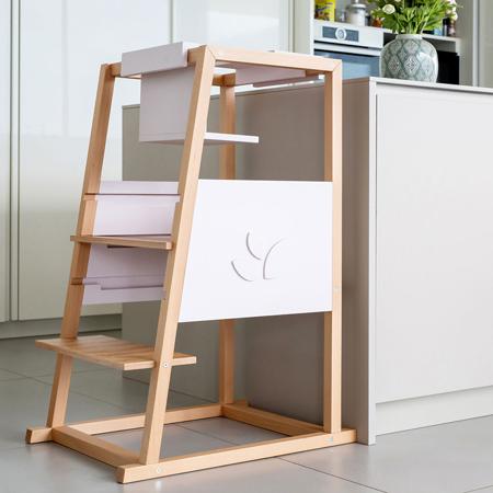 Picture of Trucioli & Coccole® Learning tower Montessori Lerni
