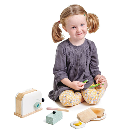 Picture of Tender Leaf Toys® Breakfast Toaster Set