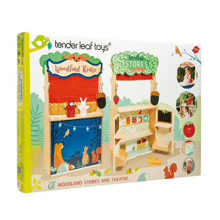 Picture of Tender Leaf Toys® Woodland Stores and Theater