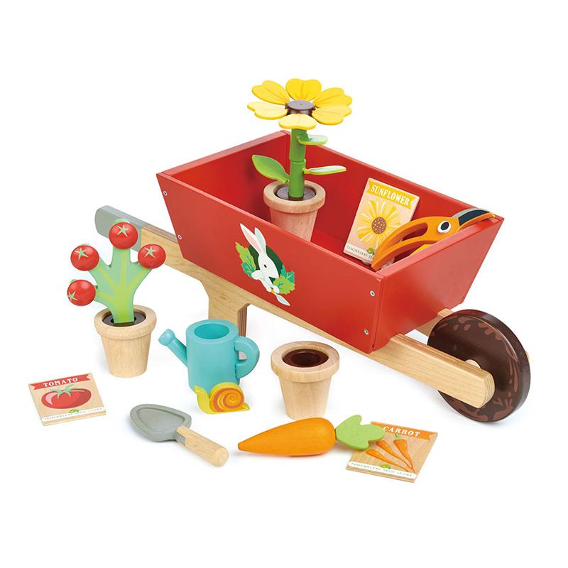 Picture of Tender Leaf Toys® Garden Wheelbarrow Set