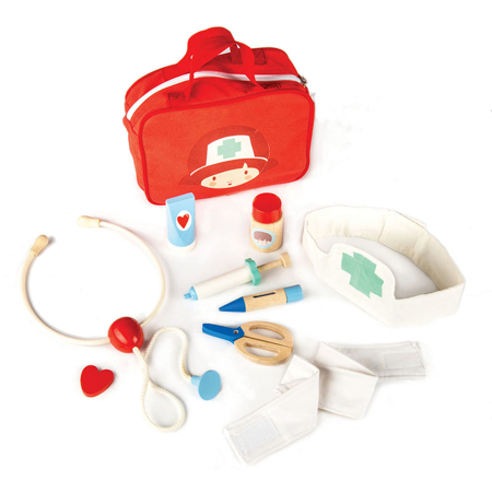Picture of Tender Leaf Toys® Doctors and Nurses Set