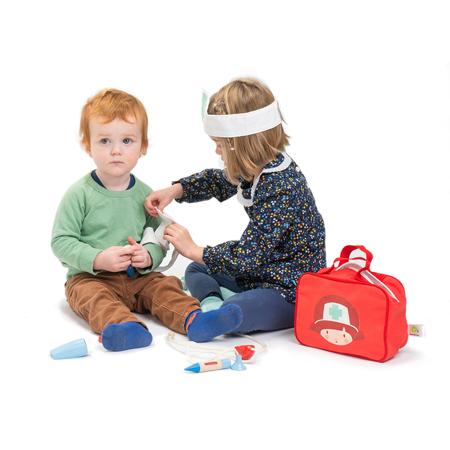 Picture of Tender Leaf Toys® Doctors and Nurses Set
