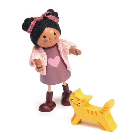 Picture of Tender Leaf Toys® Ayana and her Cat