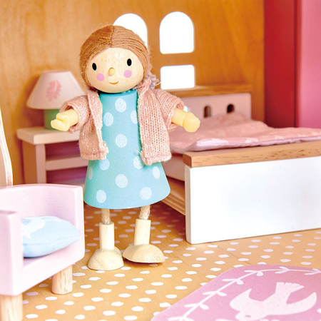 Picture of Tender Leaf Toys® Dolls House Bedroom Furniture