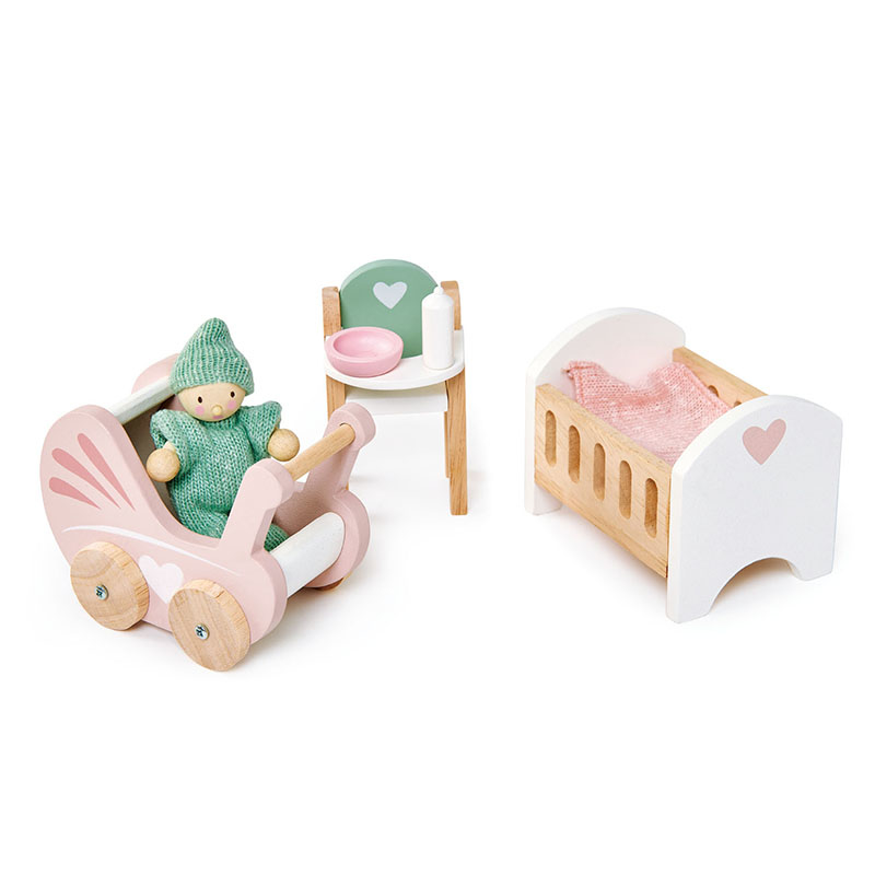 Picture of Tender Leaf Toys® Dolls House Nursery Set