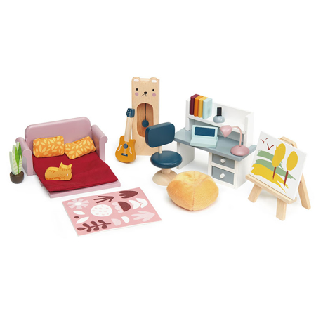 Picture of Tender Leaf Toys® Dolls House Study Furniture