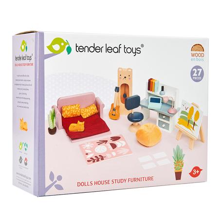 Tender Leaf Toys® Dolls House Study Furniture