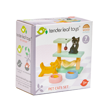 Picture of Tender Leaf Toys® Pet Cats Set