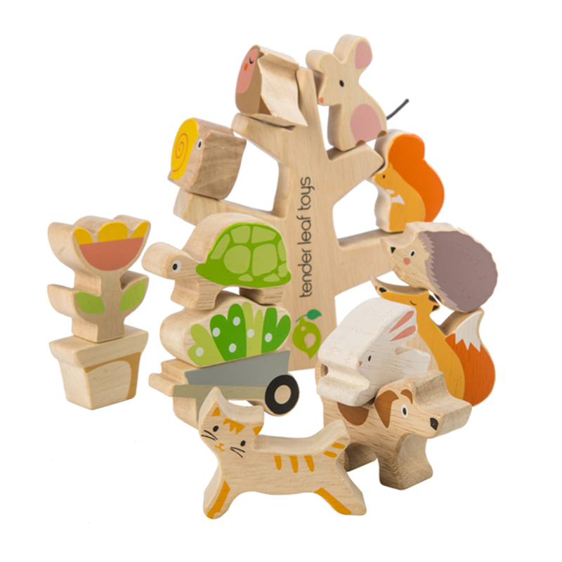 Picture of Tender Leaf Toys® Stacking Garden Friends
