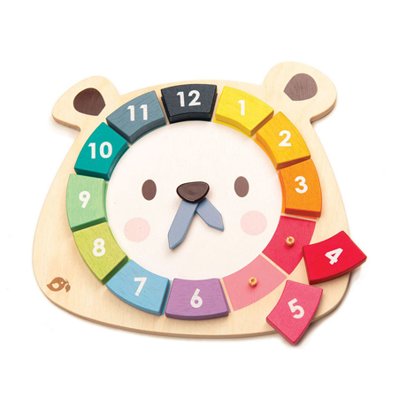 Picture of Tender Leaf Toys® Bear Colors Clock