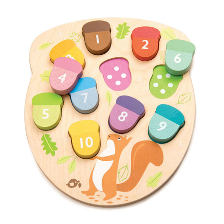 Picture of Tender Leaf Toys® How Many Acorns?