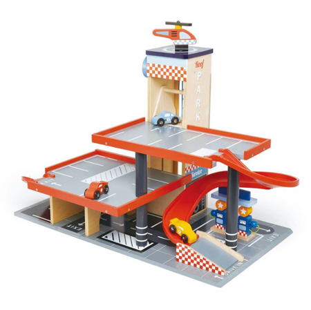Picture of Tender Leaf Toys® Blue Bird Service Station