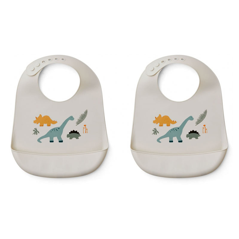 Picture of Liewood® Tilda silicone bib Dino Mix 2 pack