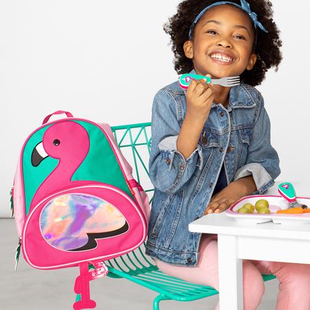 Picture of Skip Hop® Little Kid Backpack Flamingo