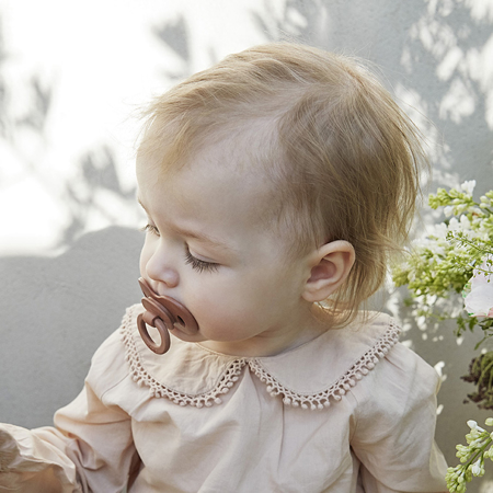 Picture of Elodie Details® Bamboo Pacifier - Faded Rose