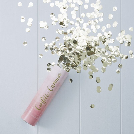Ginger Ray® Pink Ombre Compressed Air Confetti Cannon