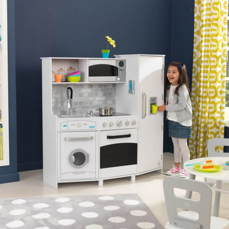 Picture of KidKratft® Large Play Kitchen With Lights & Sounds White