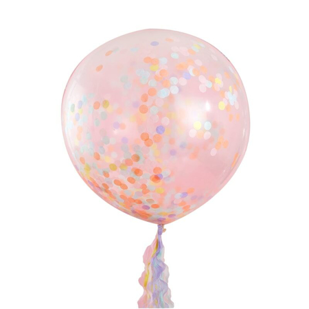 Picture of Ginger Ray® Giant Pastel Party Confetti Filled Balloons