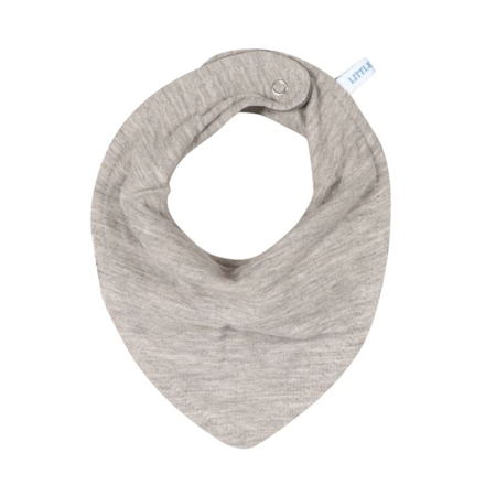 Picture of Little Dutch® Bandana bib Pure Grey