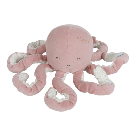Picture of Little Dutch® Cuddly toy Octopus Ocean Pink
