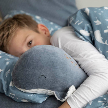 Picture of Little Dutch® Small cuddly toy Whale Ocean Blue 25cm