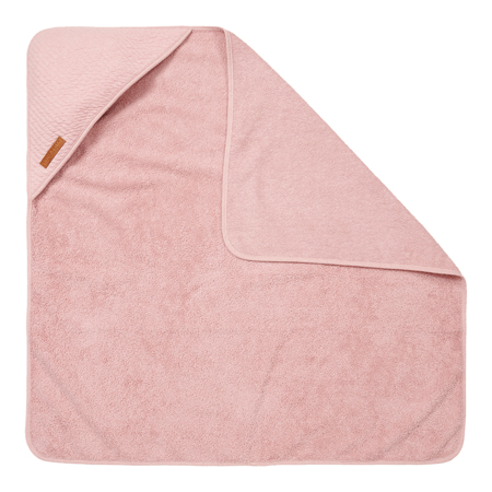 Little Dutch® Hooded towel Pure Pink