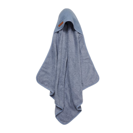 Picture of Little Dutch® Hooded towel Pure Blue