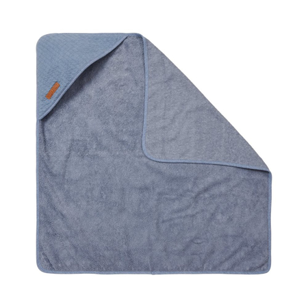 Little Dutch® Hooded towel Pure Blue
