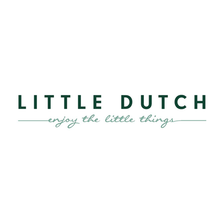 Picture of Little Dutch® Hooded towel Pure Grey