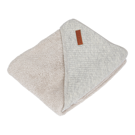 Little Dutch® Hooded towel Pure Grey