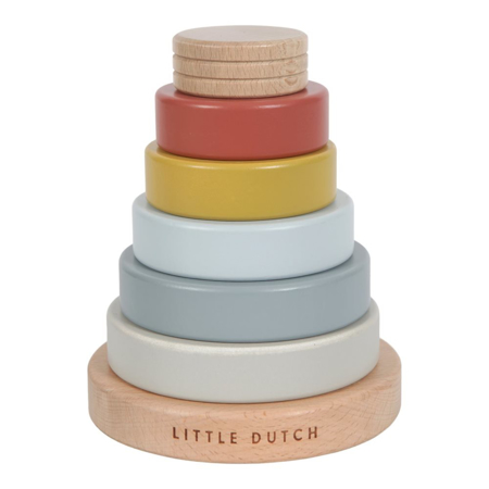 Picture of Little Dutch® Stacking rings Pure & Natur