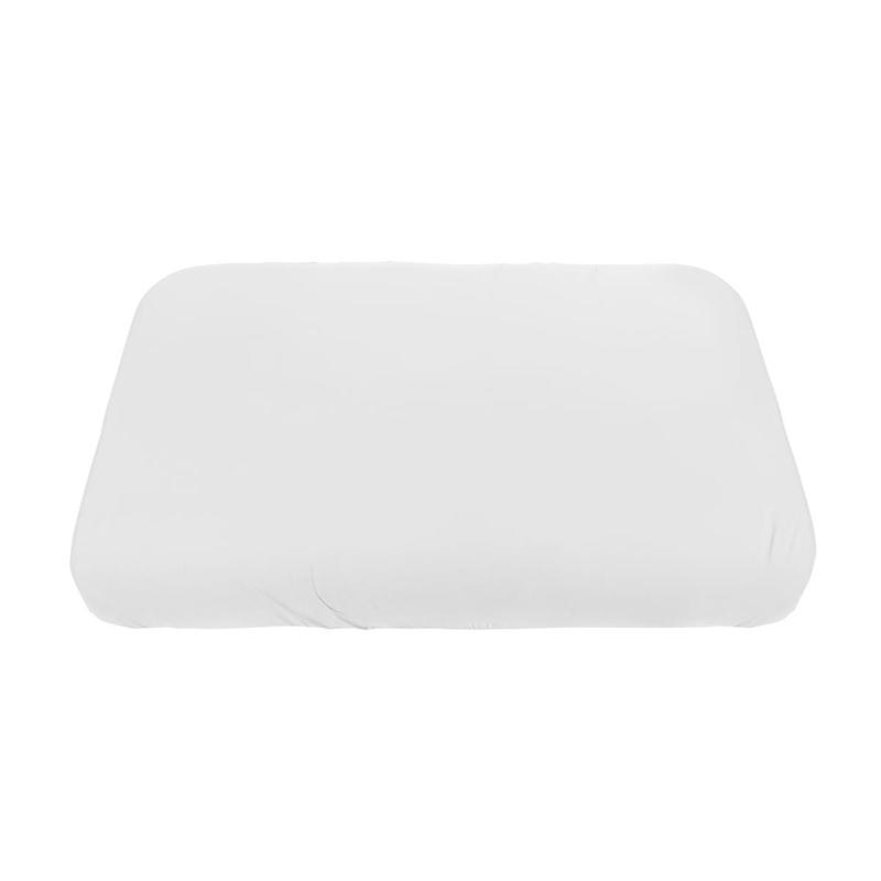 Picture of Sebra® Jersey sheet Baby White 70x120