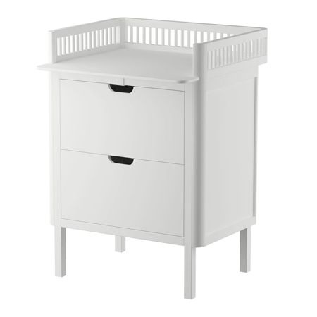 Picture of Sebra® Changing Unit Drawers Classic white