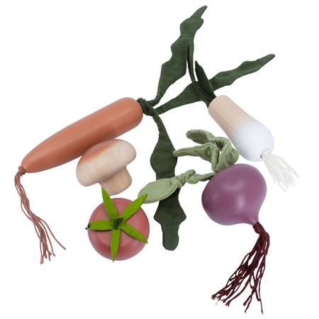 Picture of Sebra® Wooden Veggies